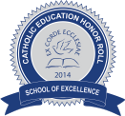 2014 Honor Roll School of Excellence Ribbon 125 x 116